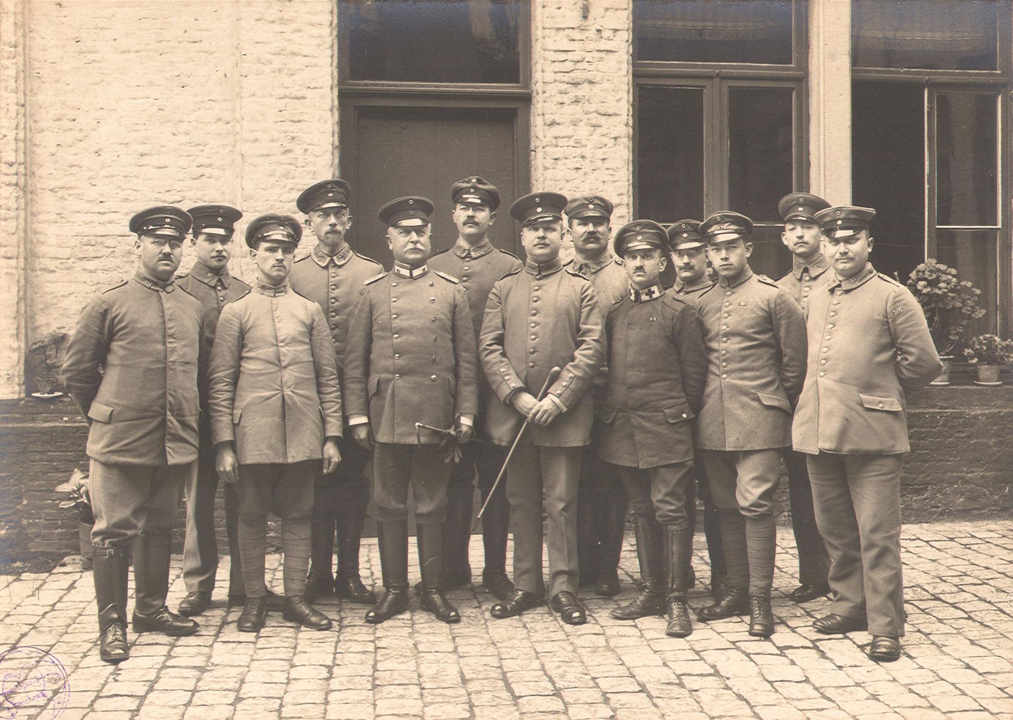 Duitse bezetting tijdens Wereldoorlog I
