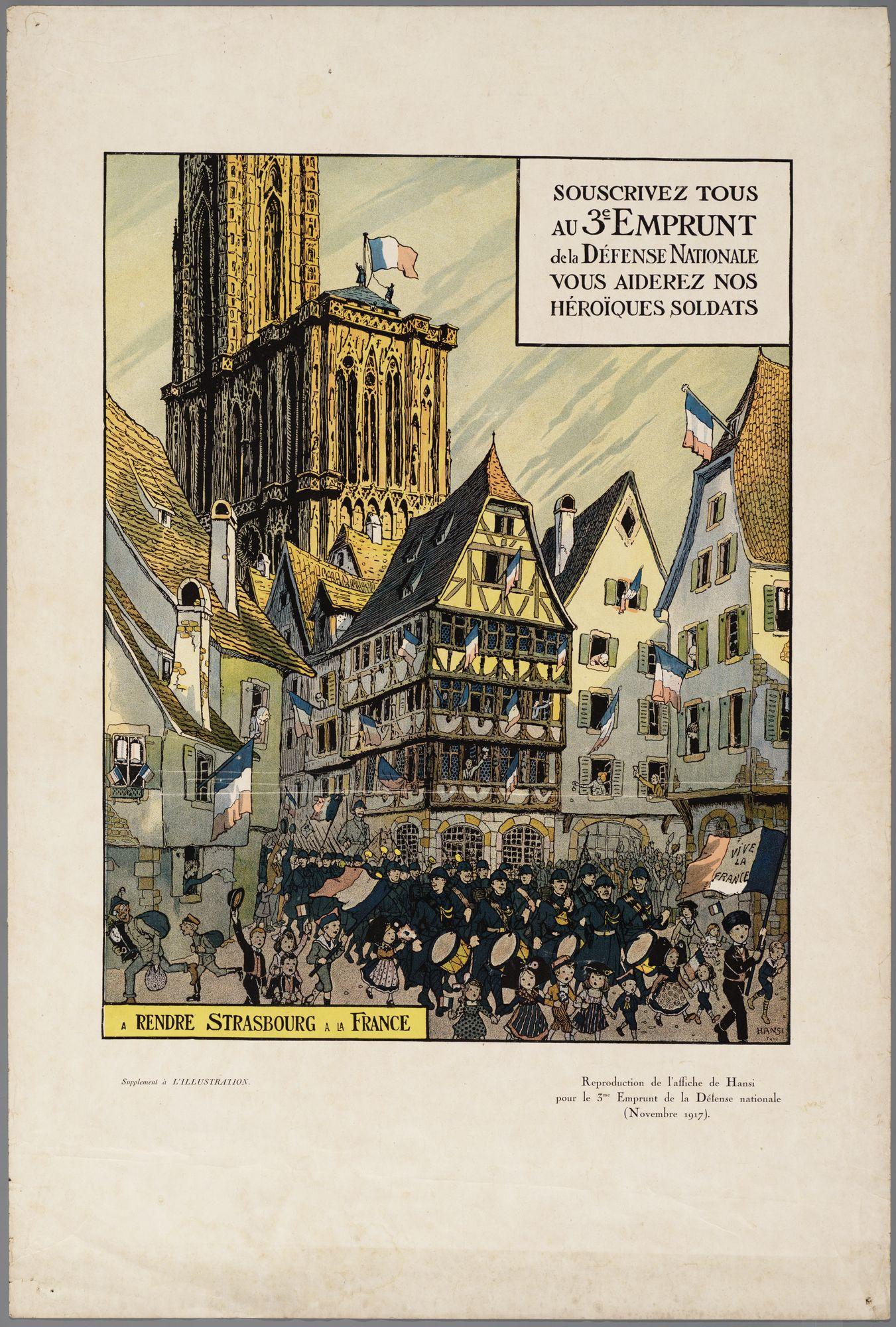 Oorlogsaffiche 1917