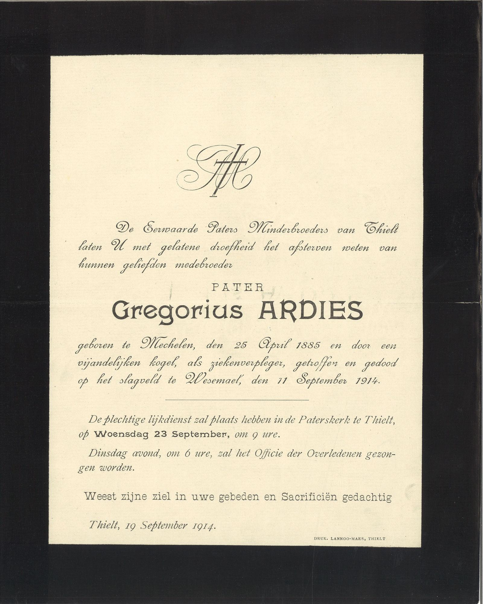 Gregorius Ardies