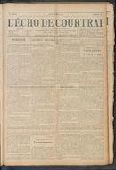 L'echo De Courtrai 1911-04-06