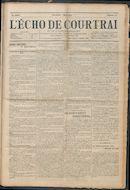 L'echo De Courtrai 1914-03-01