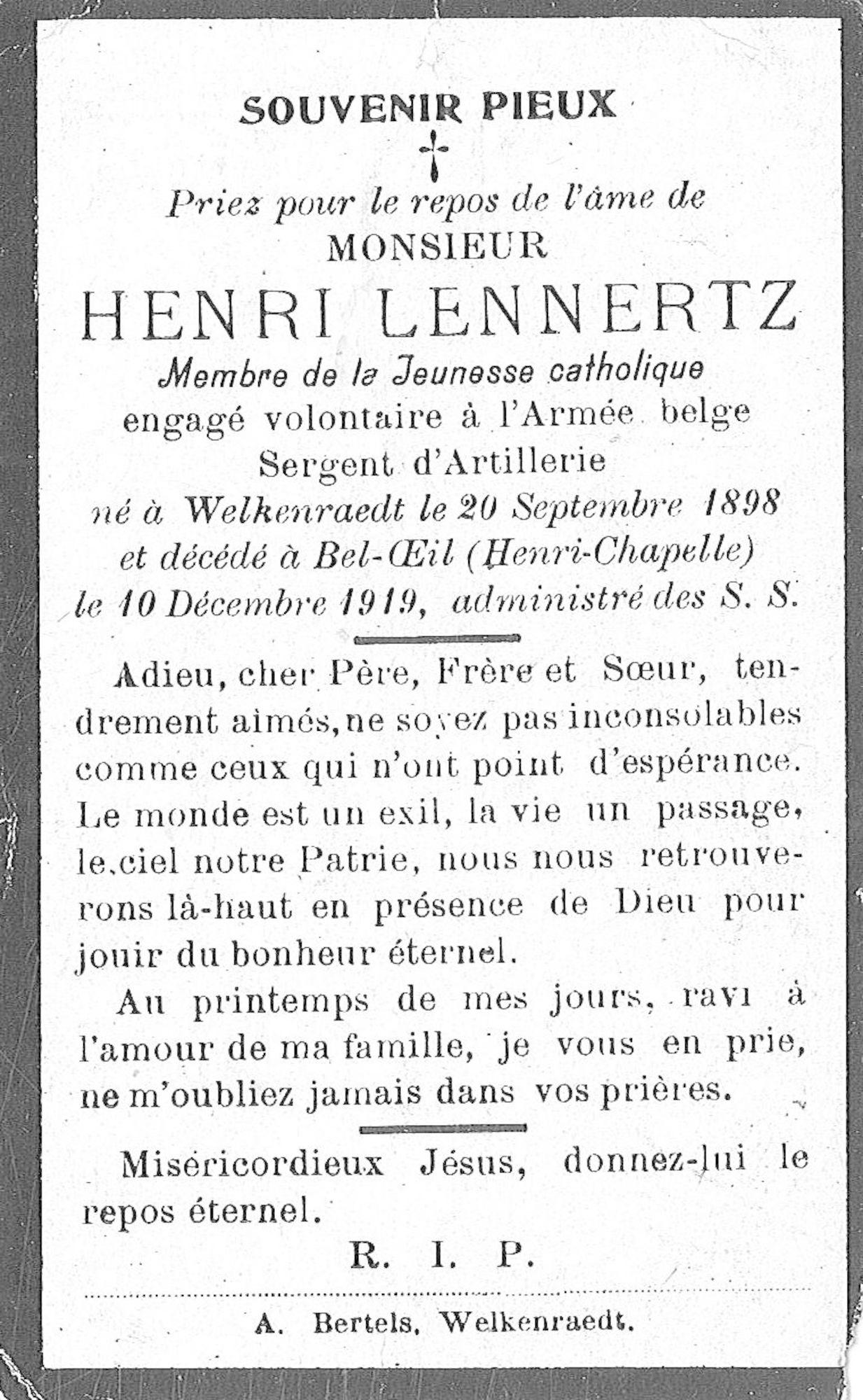 Henri Lennertz