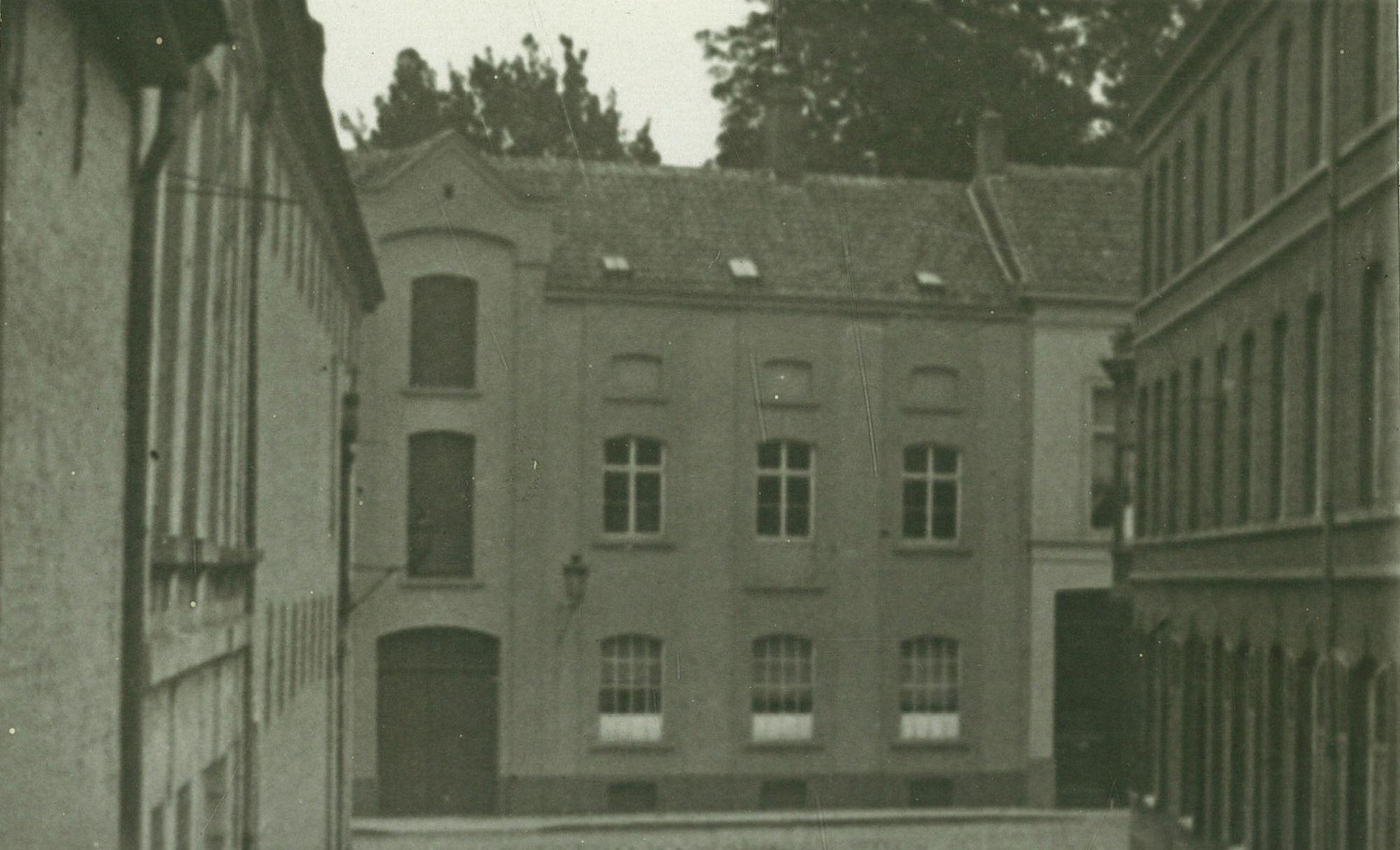 Huis in de huidige Guido Gezellestraat waar Guido Gezelle woonde van 1889 tot 1893