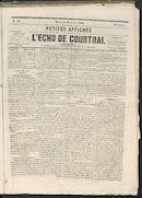 L'echo De Courtrai 1866-04-18