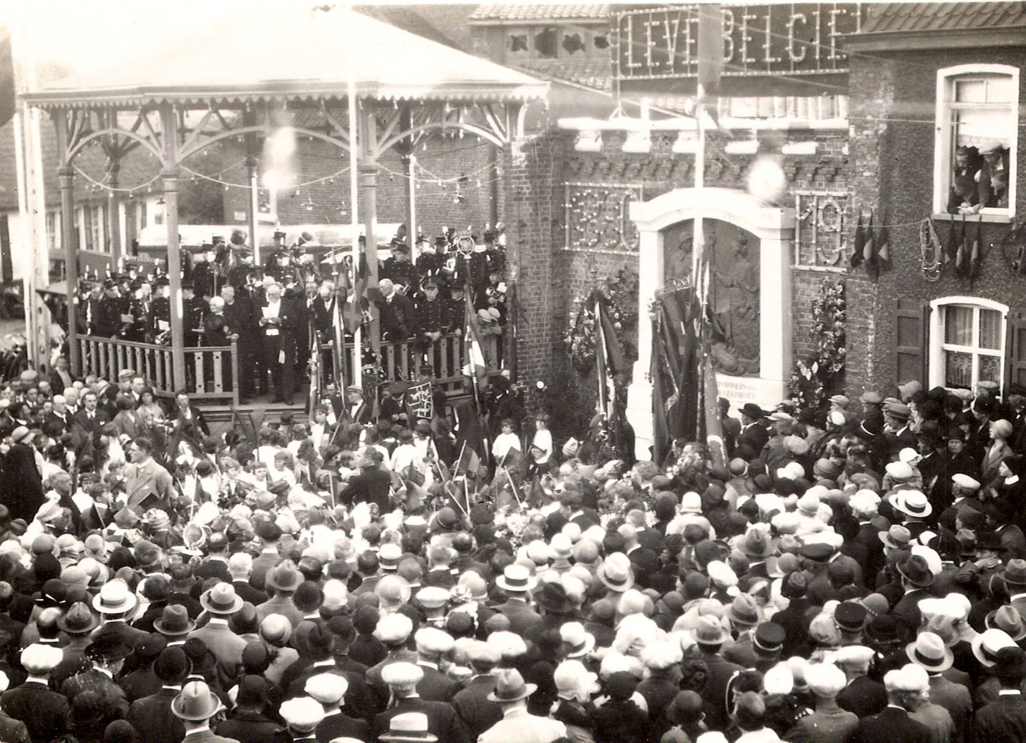Marke viert honderd jaar België