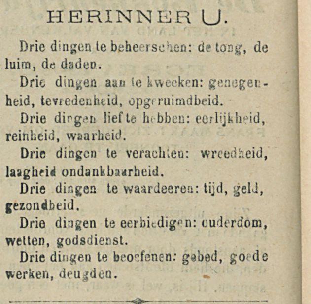 HERINNER U