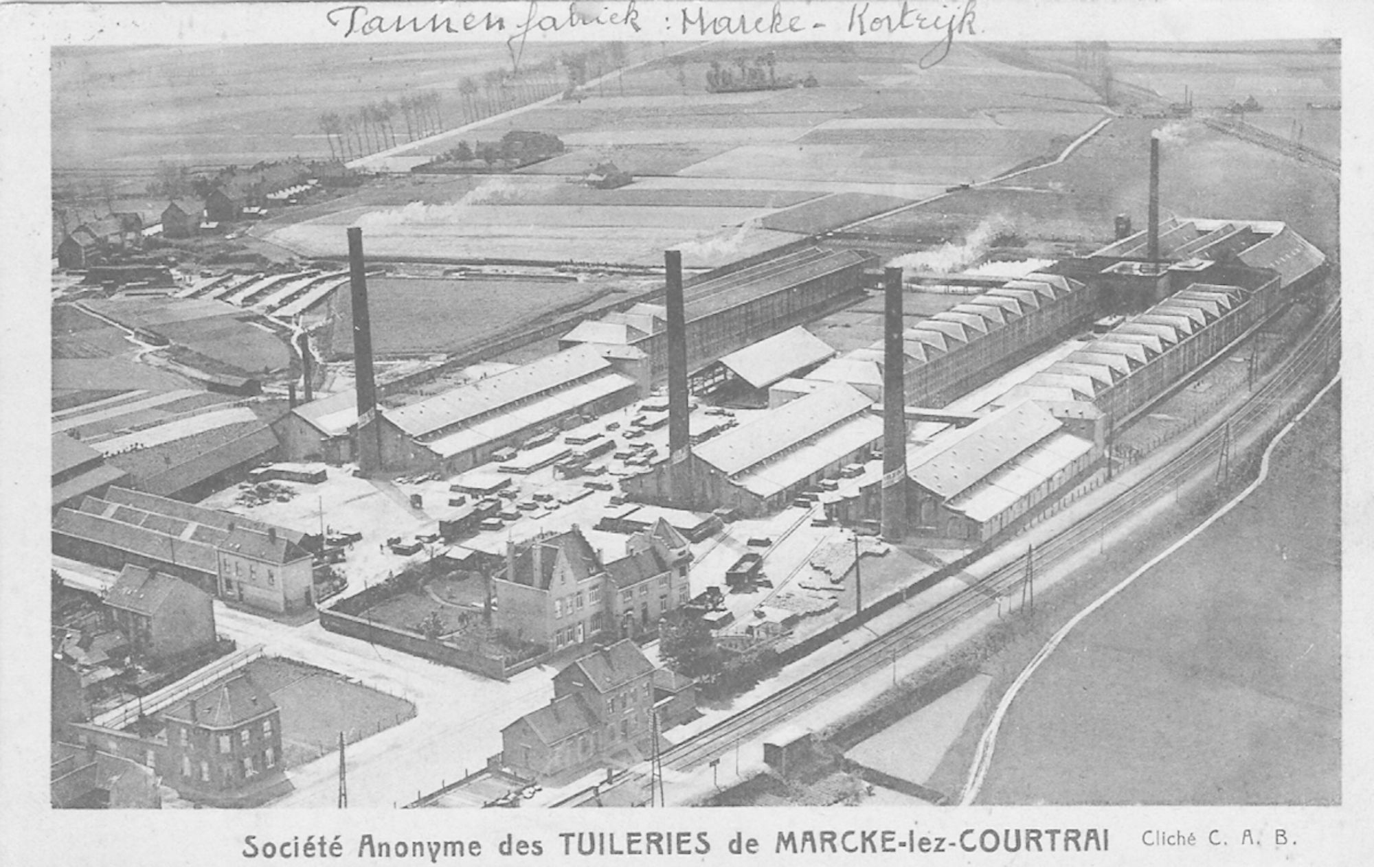 Pannenfabriek 'Tuileries de Marcke'
