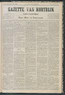 Gazette Van Kortrijk 1884-02-23