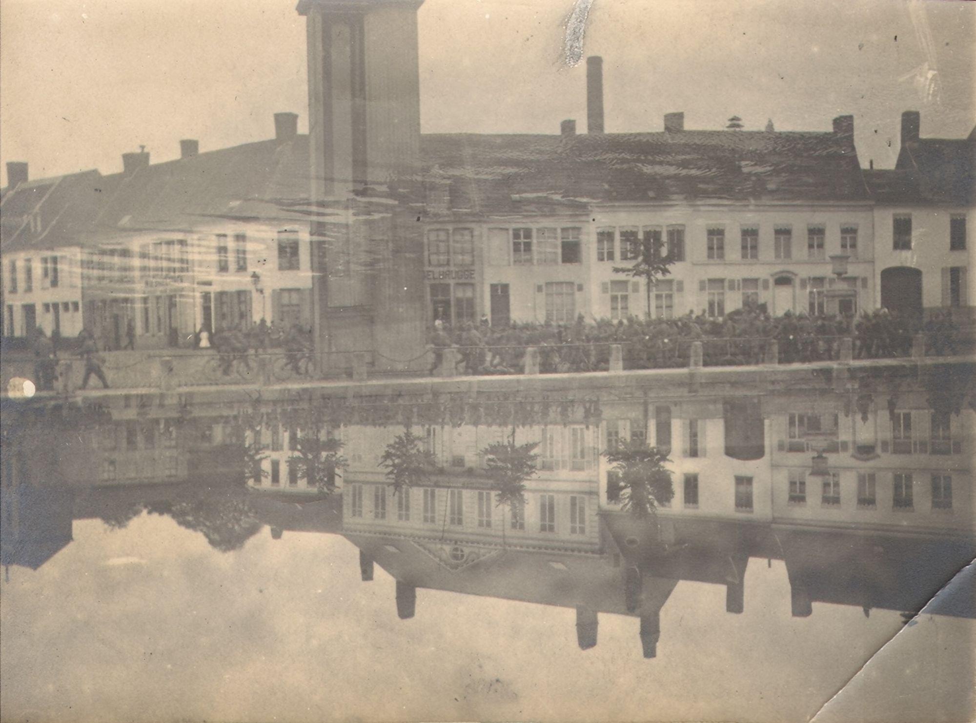 Broelkaai in 1914