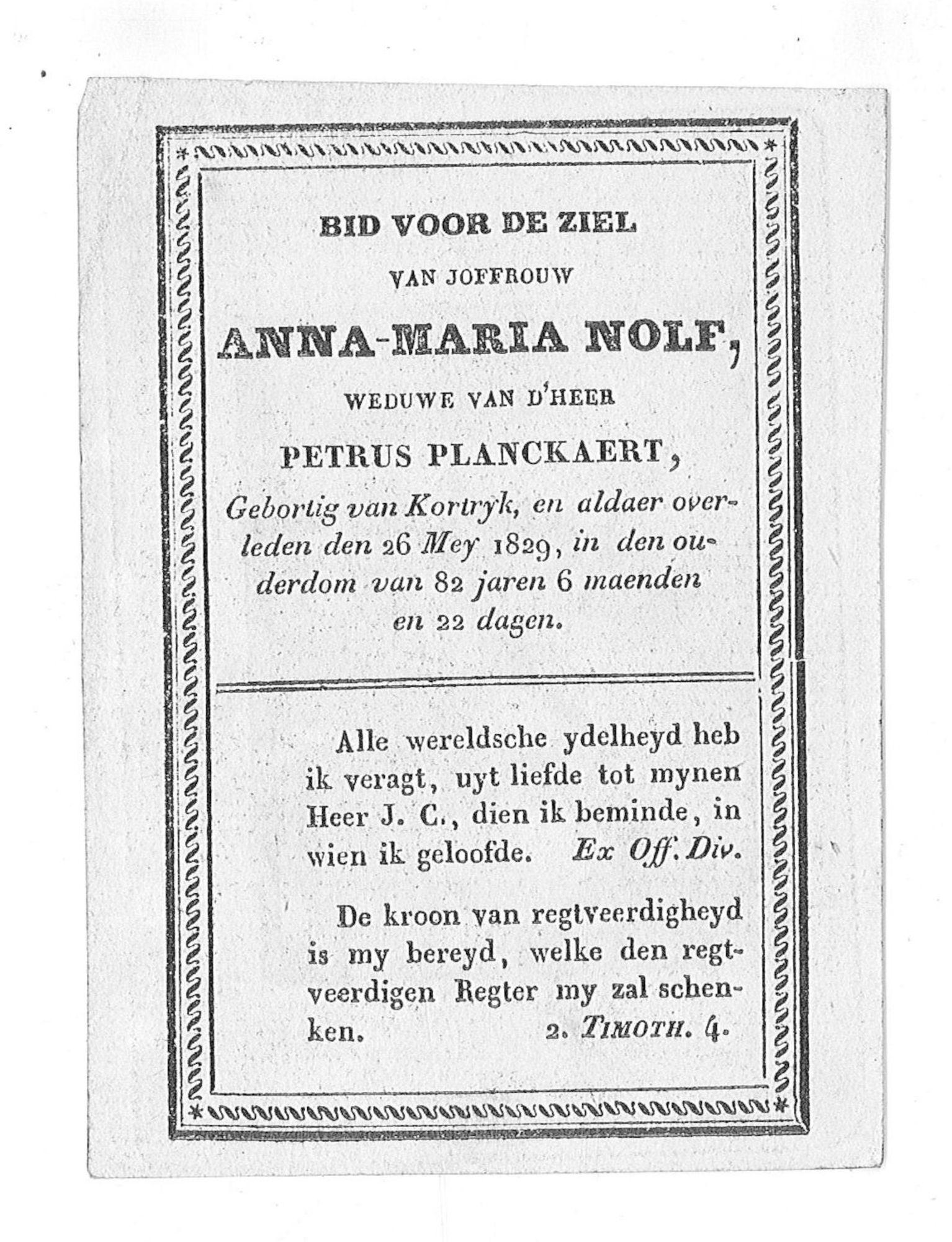 Anna-Maria Nolf