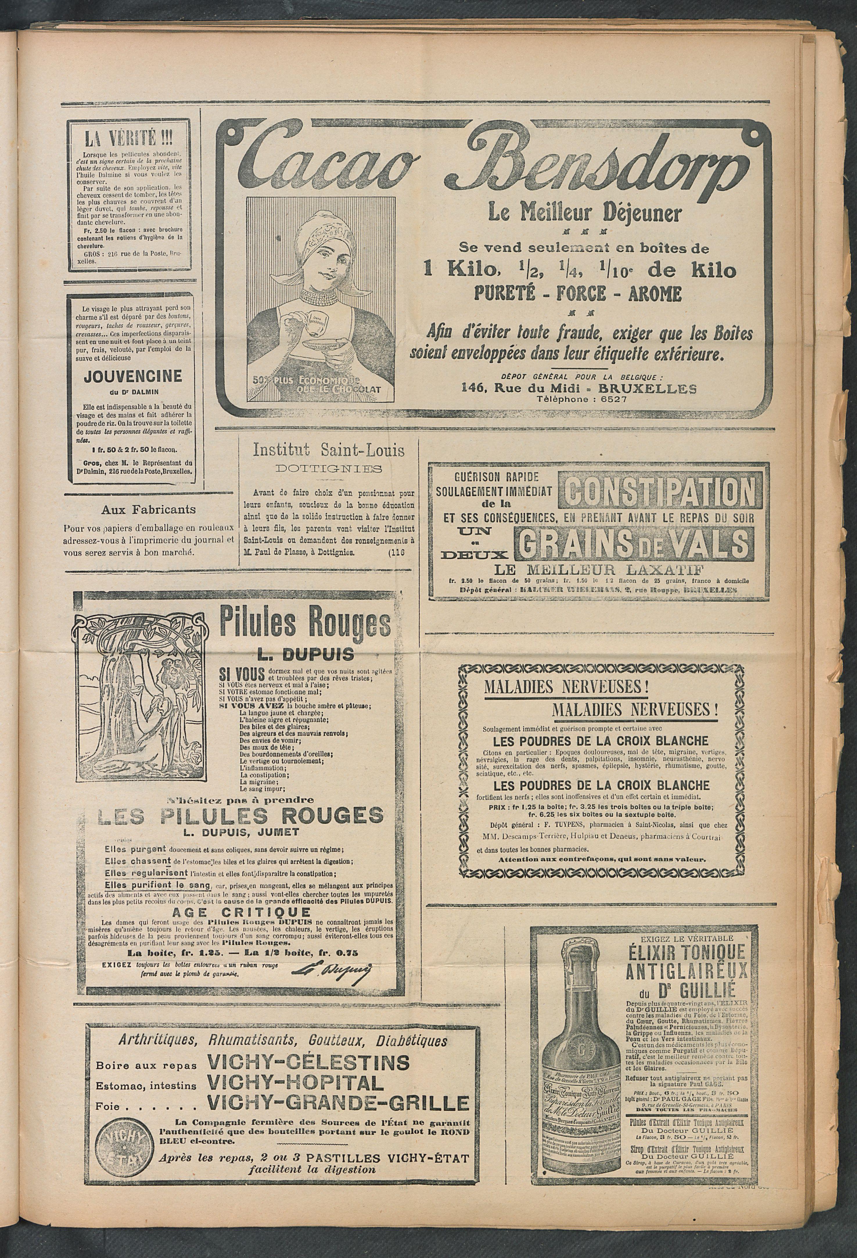 L'echo De Courtrai 1911-03-12 p5