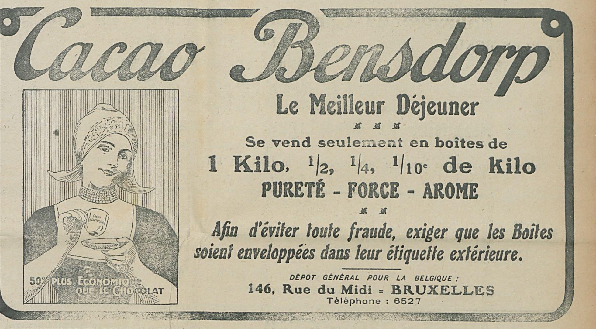 Cacao Bensdrop