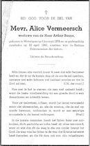 Alice Vermeersch