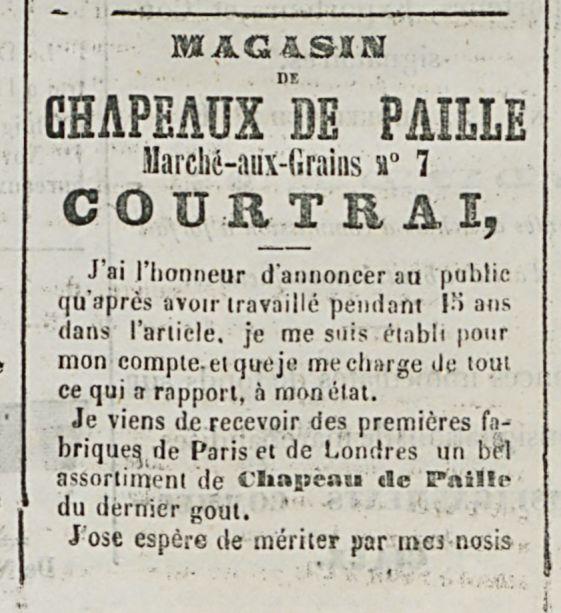 MAGASIN CHAPEAUX BE PAILLE