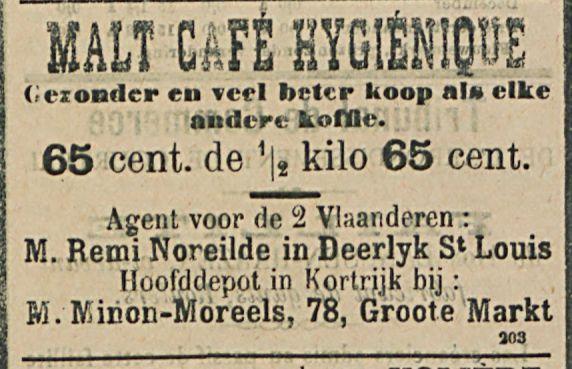 MALT CAFE HYGIENlQUE
