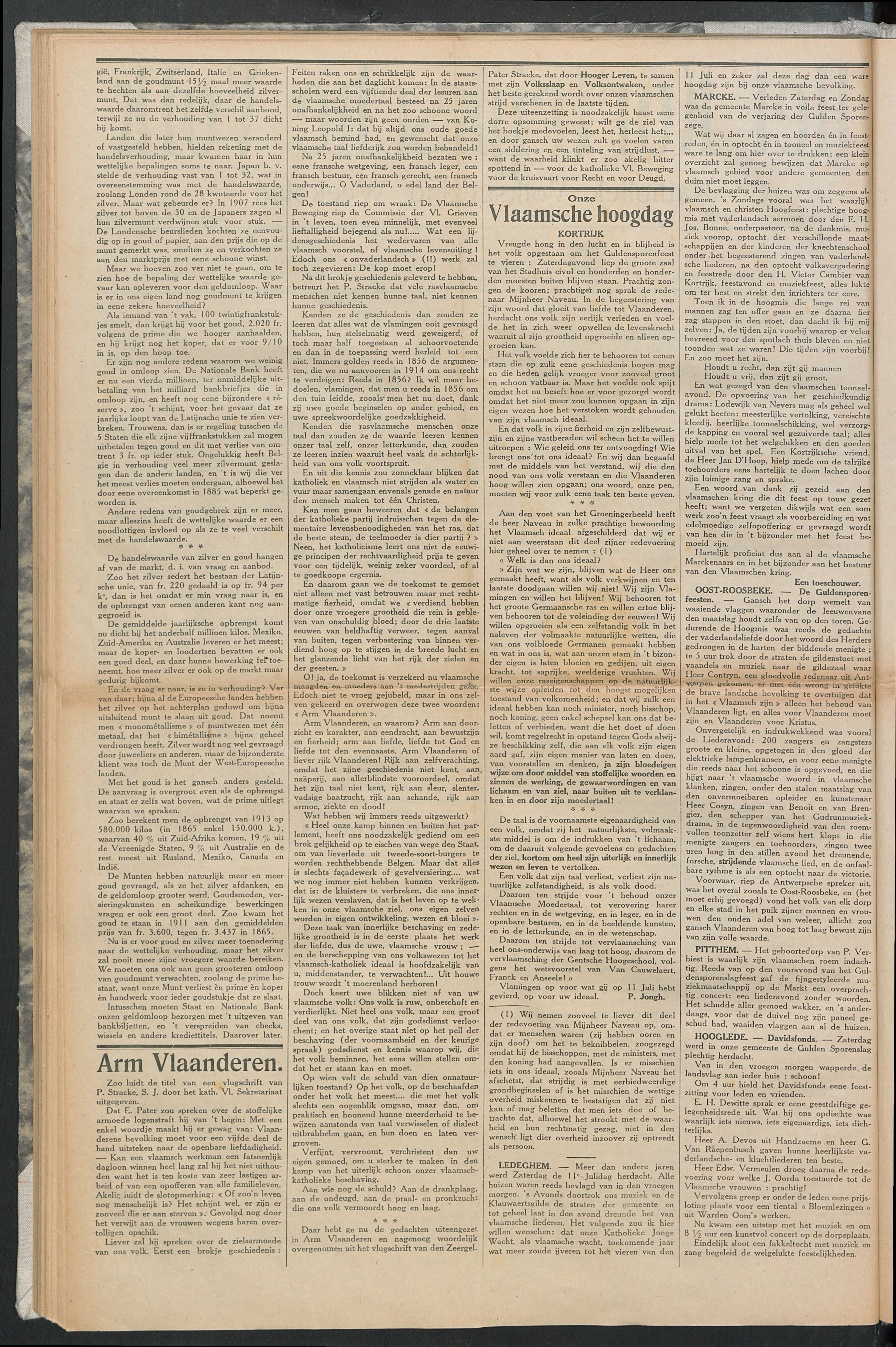 Het Kortrijksche Volk 1914-07-19 p2