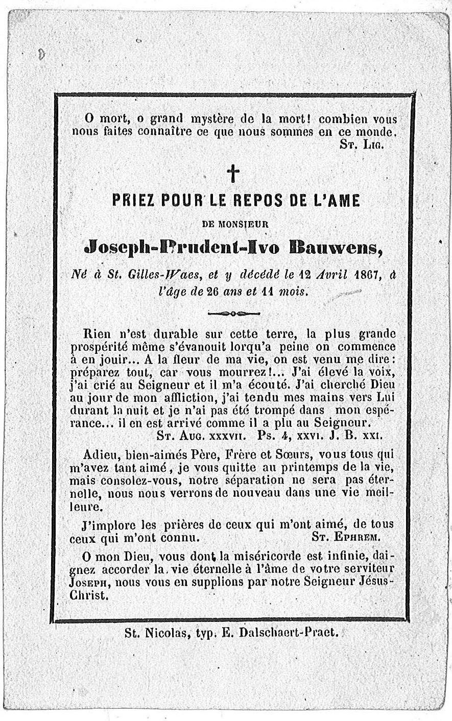 Joseph-Prudent-Ivo Bauwens