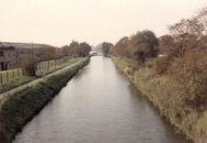 Oude sluis Nr. 8 op het Kanaal Bossuit-Kortrijk in Zwevegem 1987