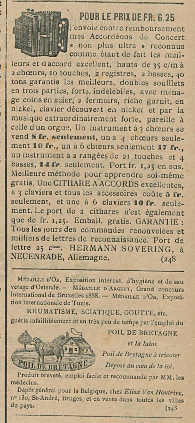POUR LE PRIX DE FR. 6 25