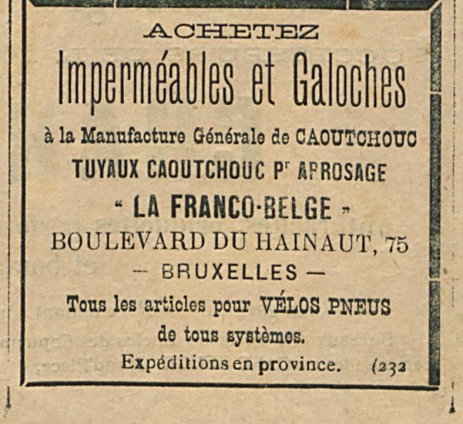 Impermeables et Galoches