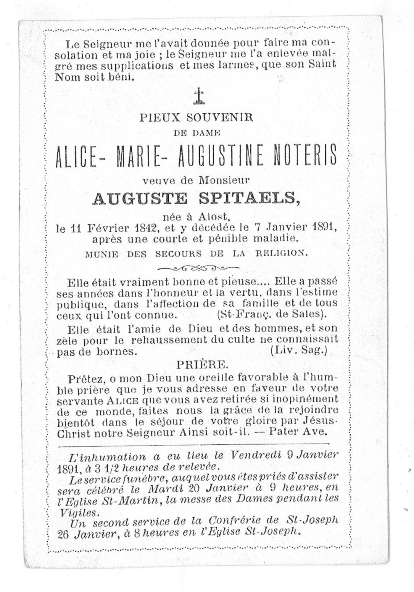 Alice-Marie-Augustine Noteris