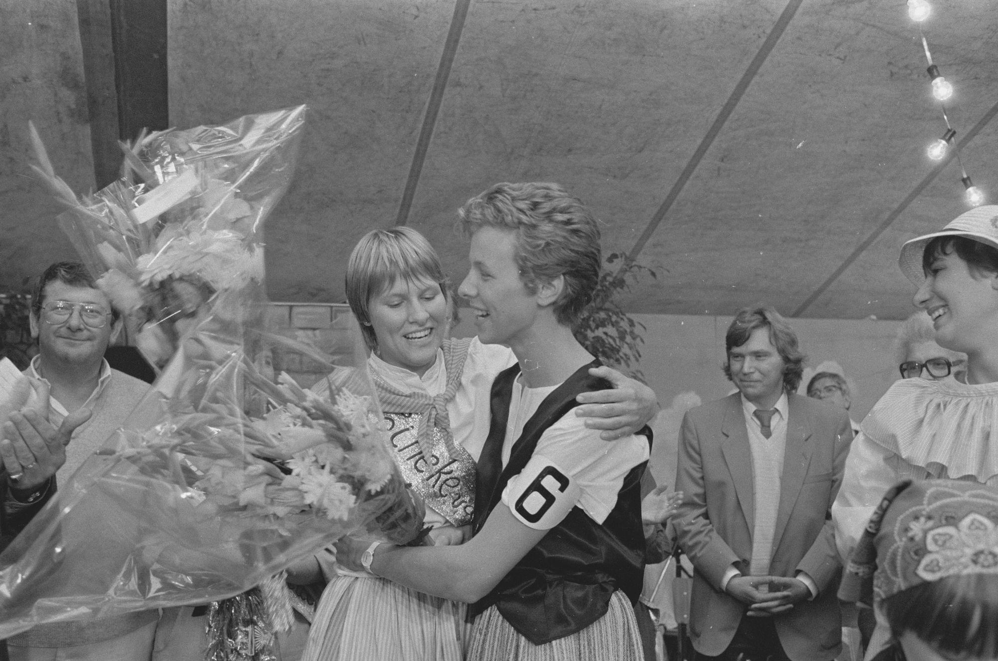 Tineke van Heule 1982 en een eredame 1983