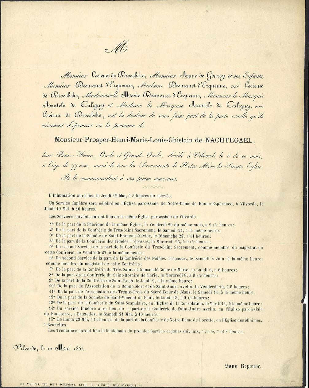 Prosper-Henri-Marie-Louis-Ghislain de Nachtegael