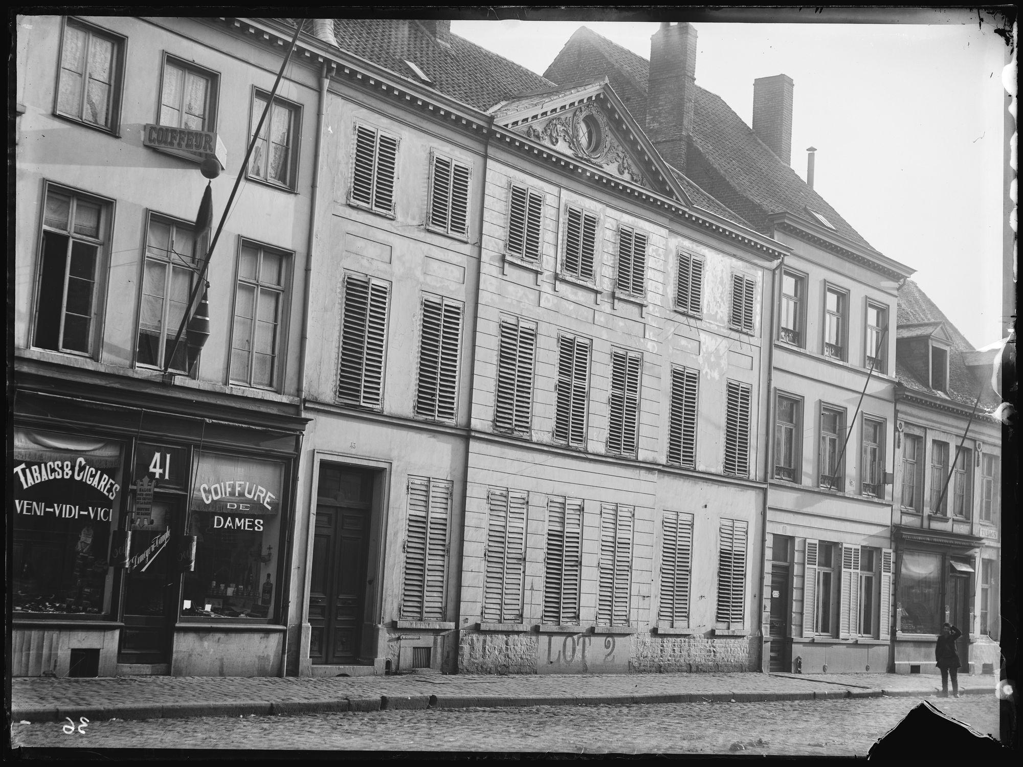 Doorniksestraat circa 1900
