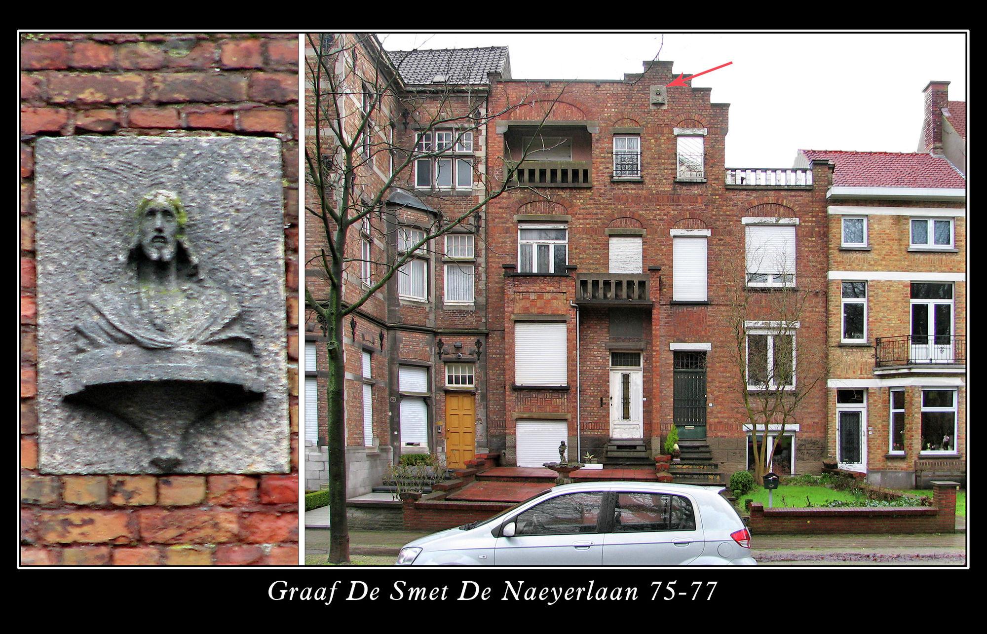 Muurkapel Graaf De Smet De Naeyerlaan