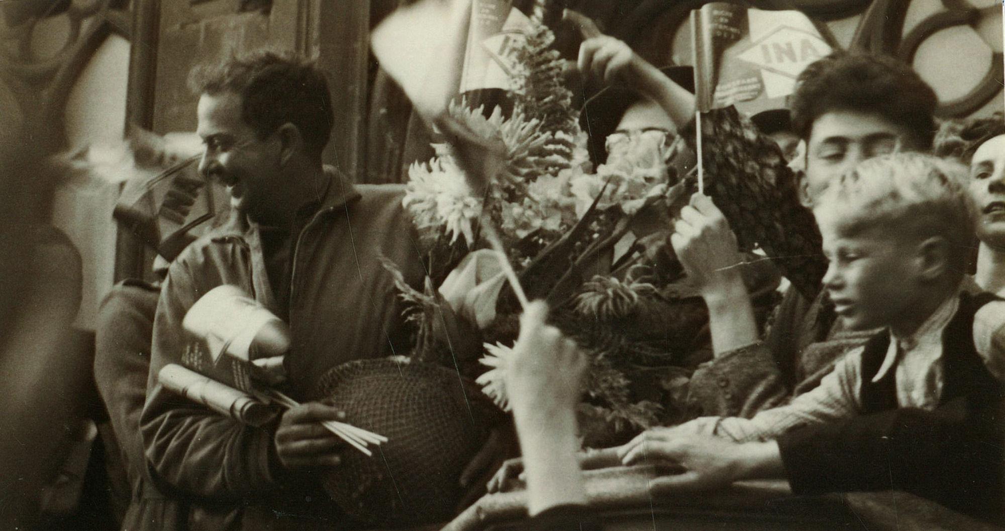 Luitenant Walter Goodman in 1944