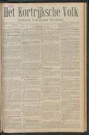 Het Kortrijksche Volk 1911-09-03 p1