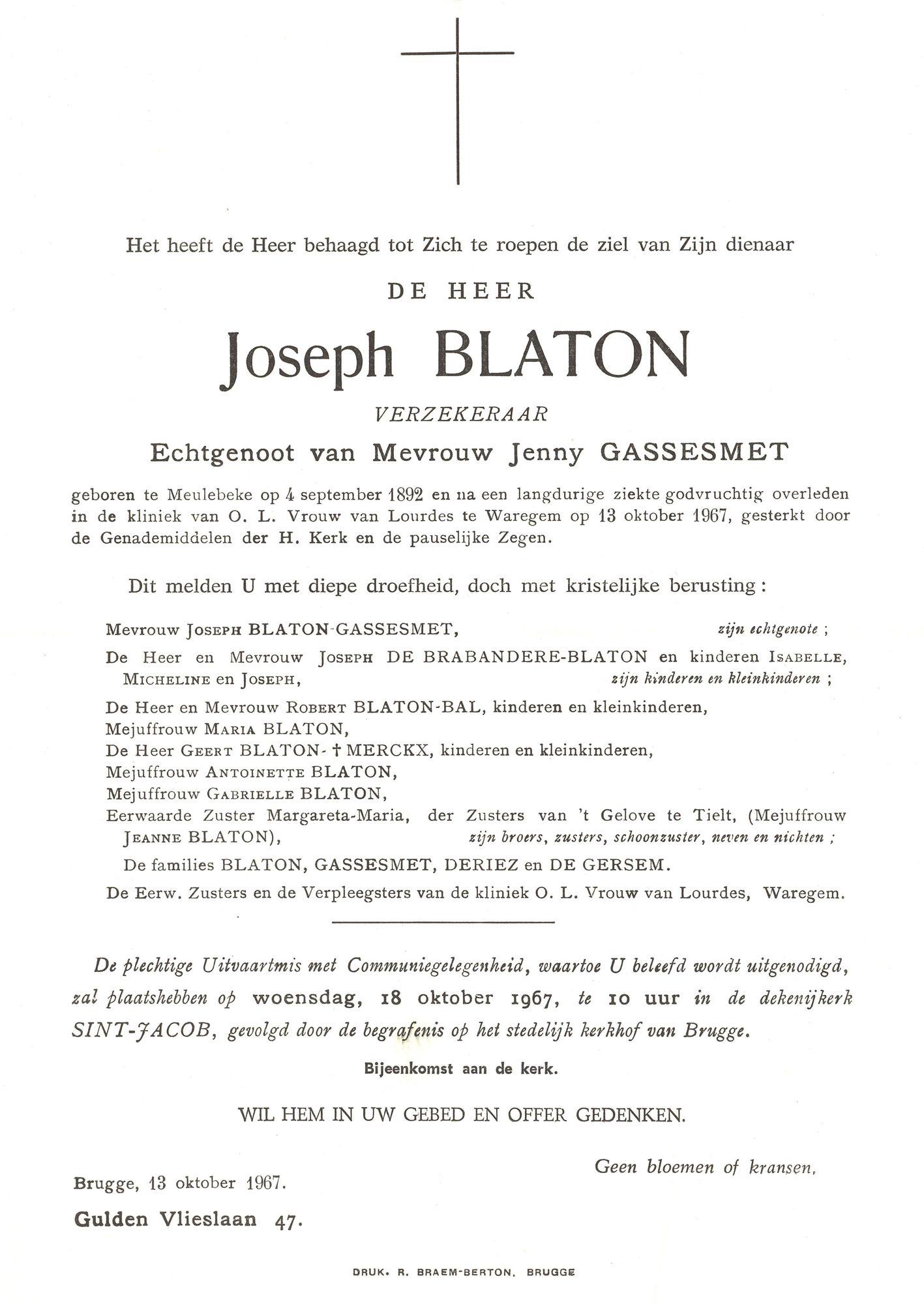 Joseph Blaton