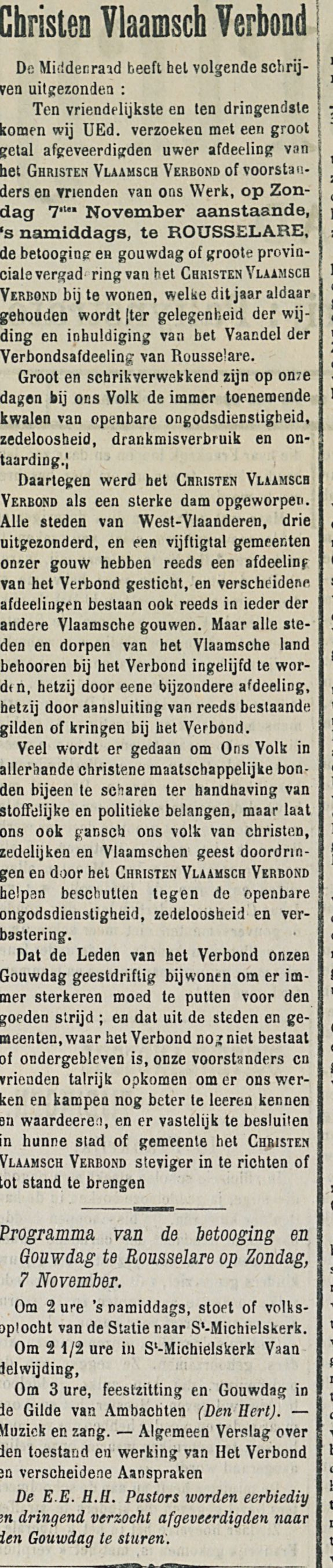 Christen Vlaamsch Verbond