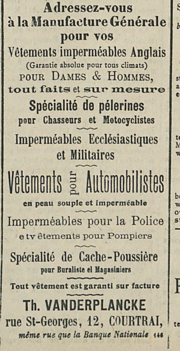 Vetements pour Automobilistes