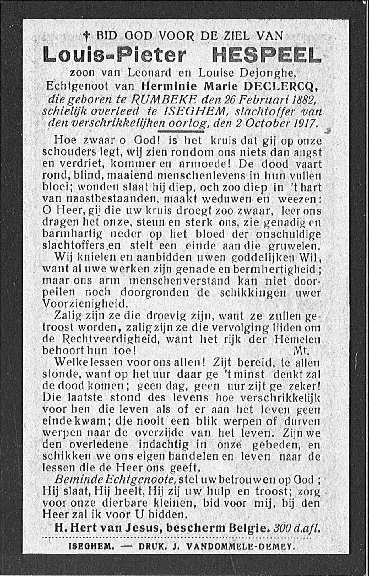 Louis Pieter Hespeel