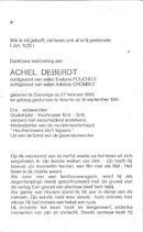 Achiel Deberdt