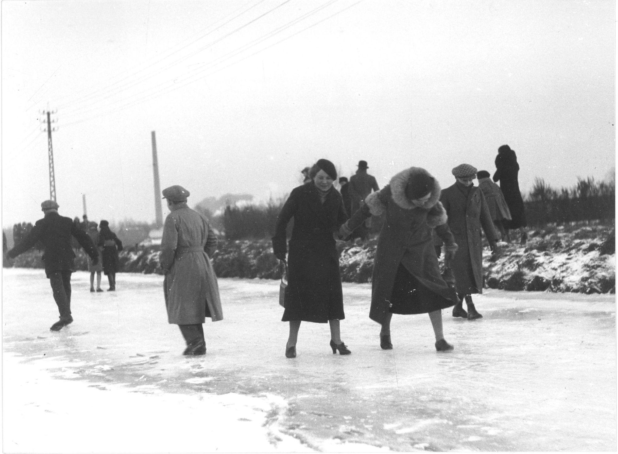 Kanaal Bossuit-Kortrijk in 1934