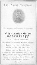 Willy-Marie-Gerard Bodenstaff