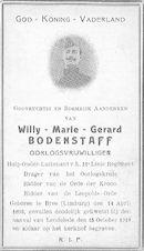 Bodenstaff Willy-Marie-Gerard