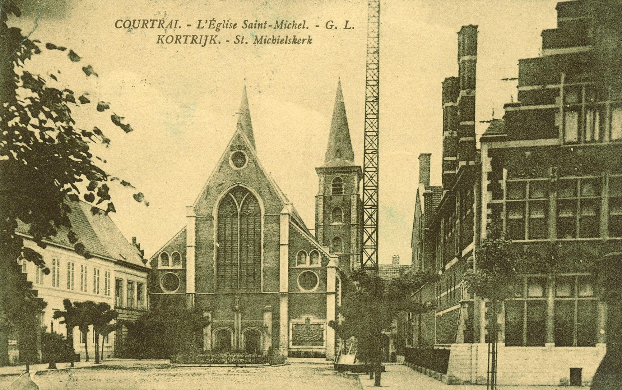 Rijselsestraat met Sint-Michielskerk
