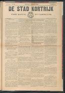 De Stad Kortrijk 1904-09-17