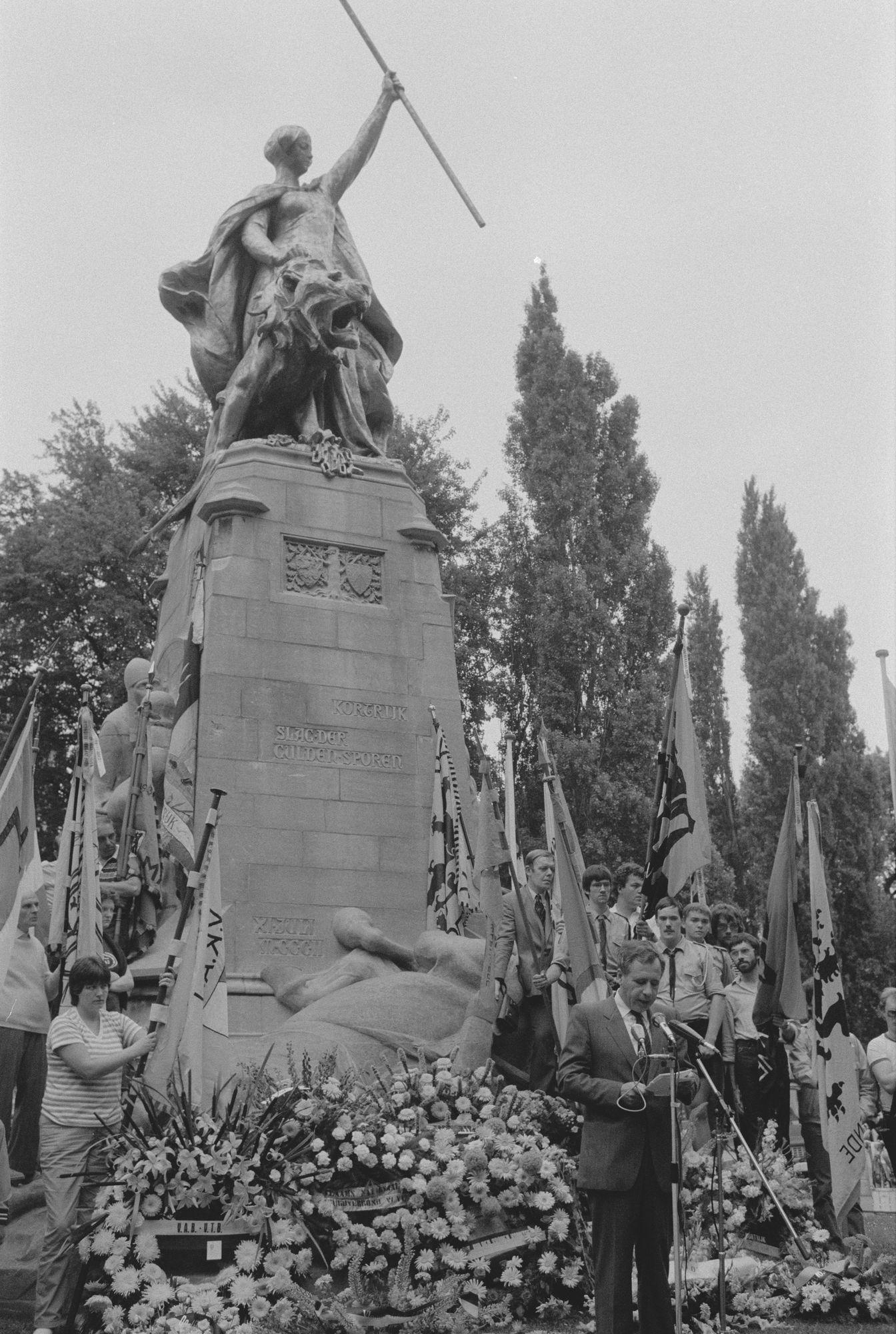 Toespraak tijdens de 11 juliviering 1982