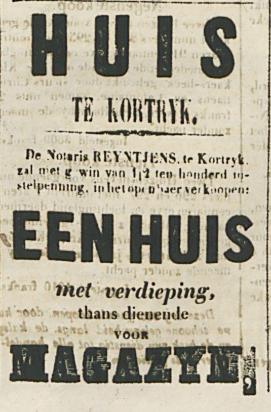 HUIS-TE KORTRYK-1