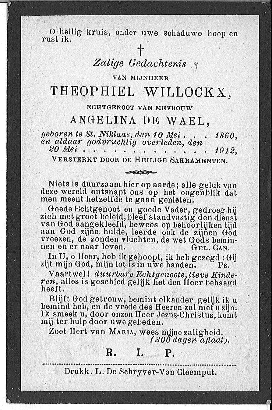 Theophiel Willockx