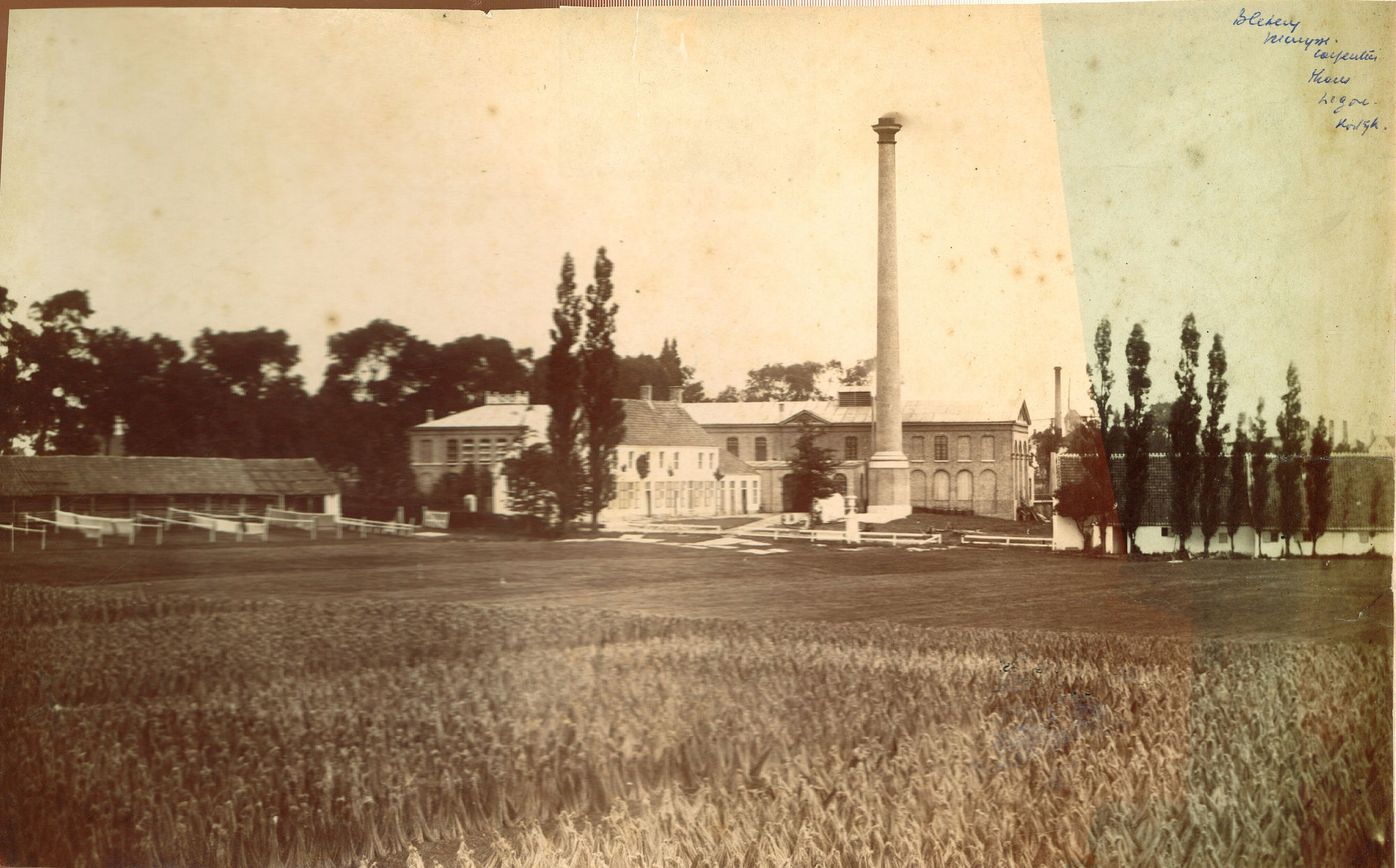 Blekerij Vercruysse-Carpentier in 1858