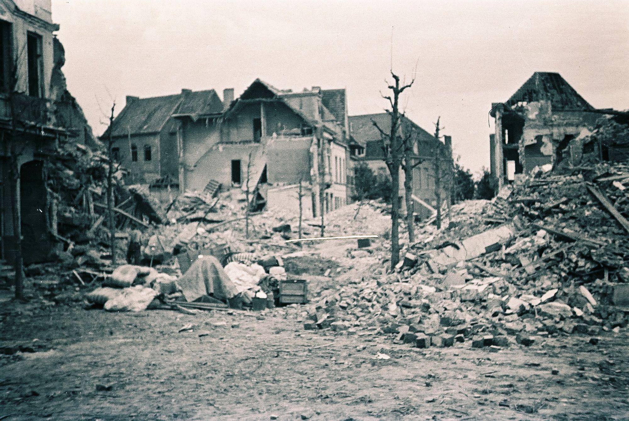 Kortrijk in 1944