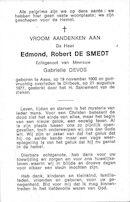 Edmond,Robert De Smedt