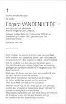 Edgard Vandenheede