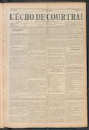 L'echo De Courtrai 1911-06-15 p1