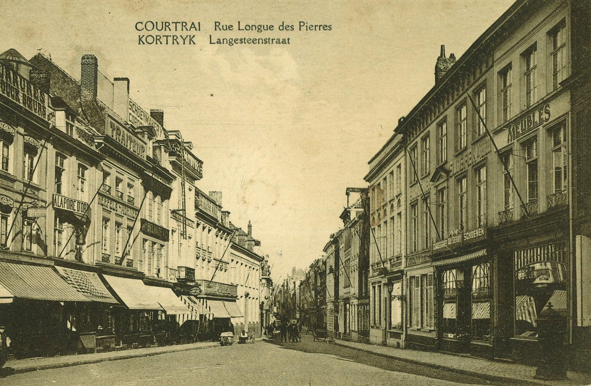 Kortrijk winkelstad